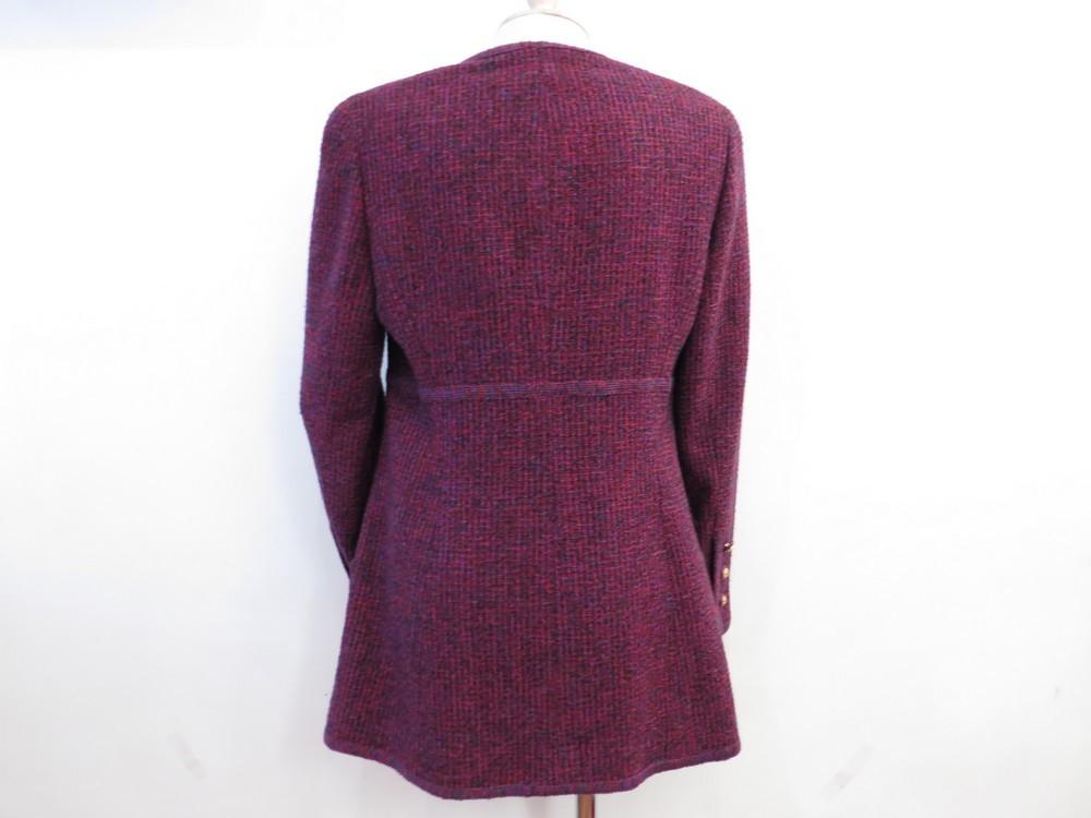 Veste tweed femme style chanel