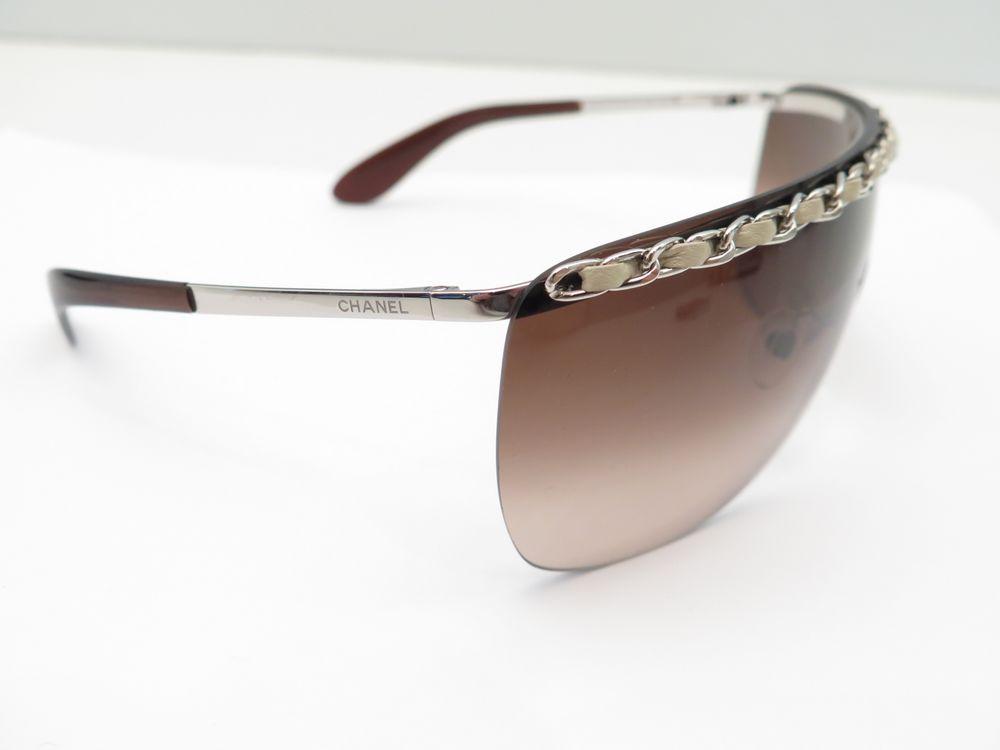 1a24bb6998d4a lunettes de soleil chanel 4160 q masque chaine