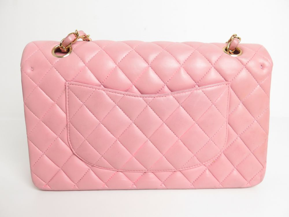 761da8ccf872 sac a main chanel timeless 2.55 en cuir matelasse rose