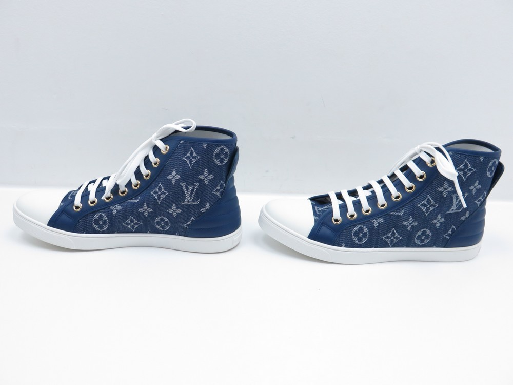 b7c659cbae5c NEUF CHAUSSURES LOUIS VUITTON SNEAKERS PUNCHY ...