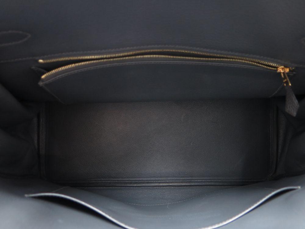 ae102a3c7d sac a main hermes birkin 35 en cuir taurillon