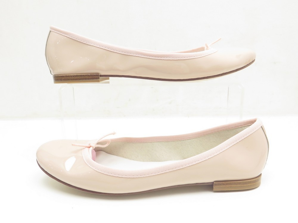 5bade9e72e NEUF CHAUSSURES REPETTO BALLERINES CENDRILLON 39 EN CUIR ROSE FLAT SHOES 195 €