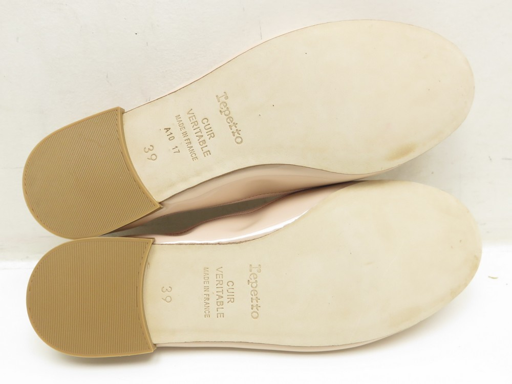 2dc3342fce NEUF CHAUSSURES REPETTO BALLERINES CENDRILLON 39 EN CUIR ROSE FLAT SHOES 195€.  Suivant