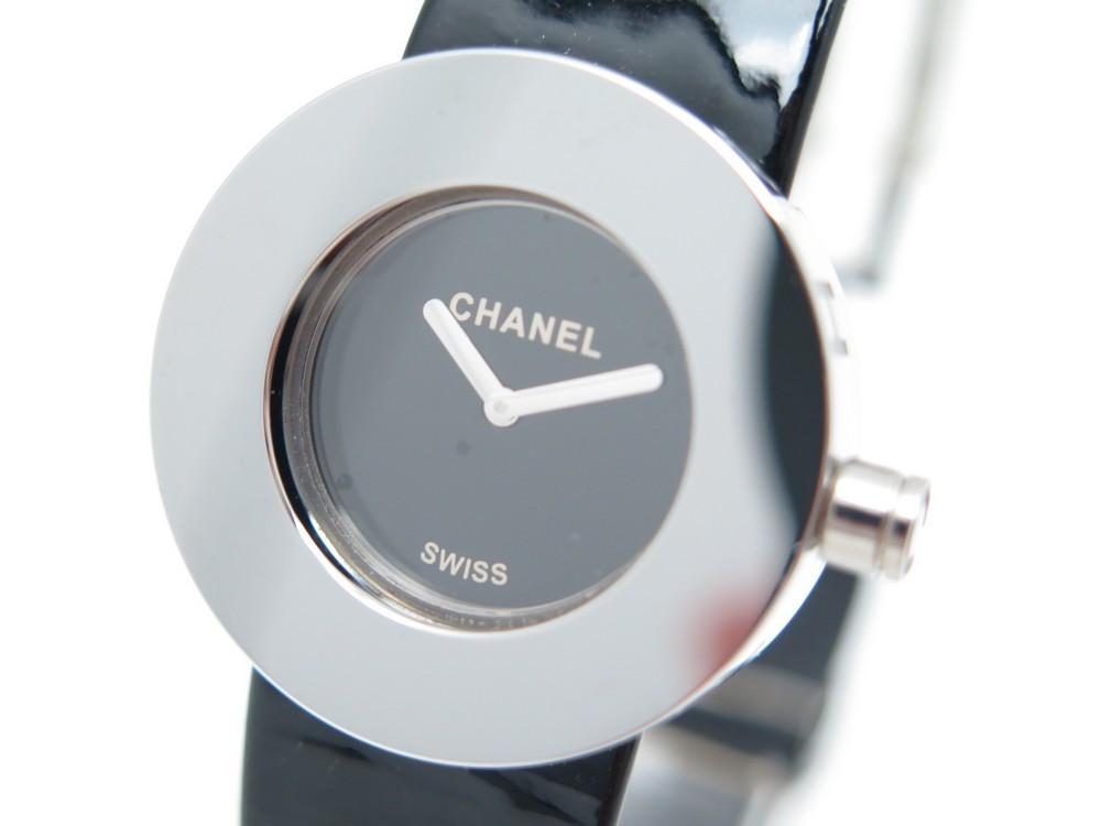 e3338f1c3d9 montre chanel la ronde 29 mm quartz metal argente