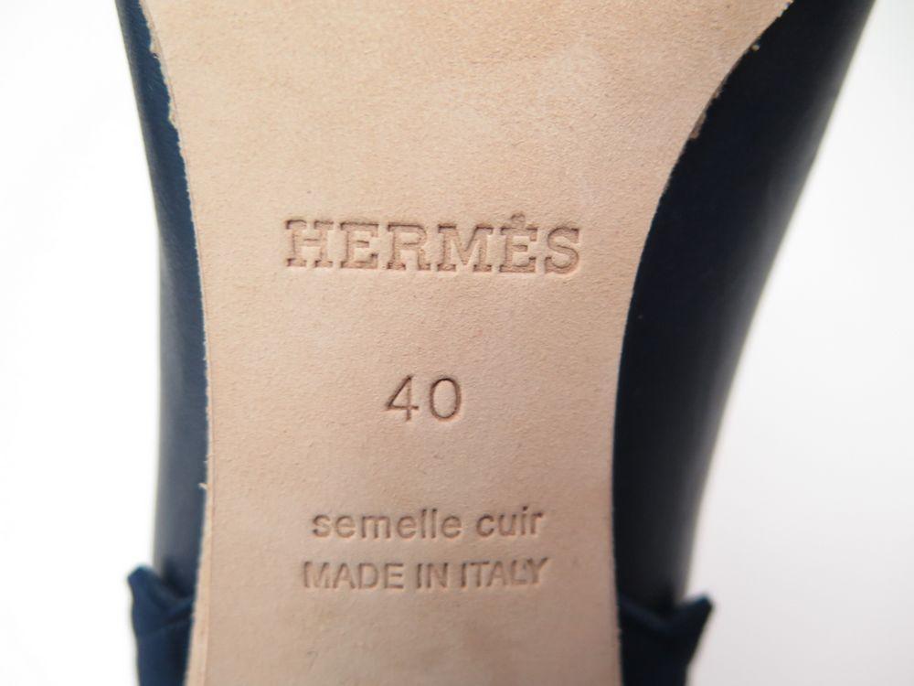 714ea3bc01cf NEUF CHAUSSURES HERMES BOTTINES A TALONS CUIR ET DAIM 40 + BOITE LOW BOOTS  1100€. Suivant