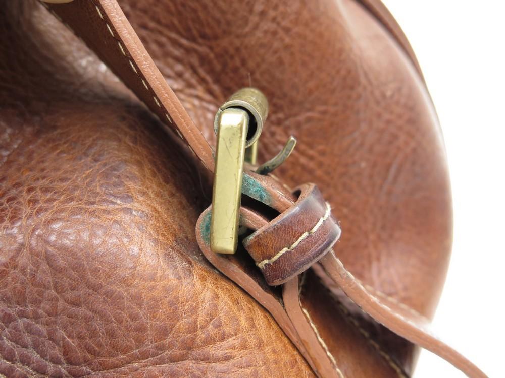 A Sac Hand Main Doree Mulberry Boucles Cuir En Marron Bag Patine TucJ5lFK13
