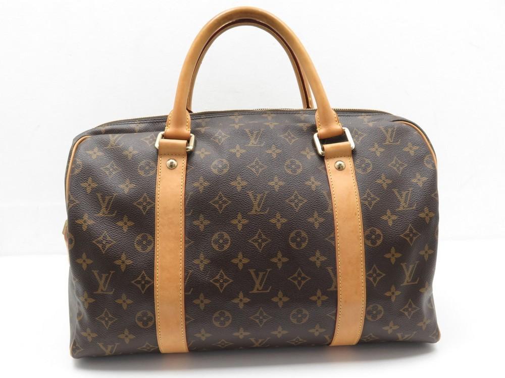 71d02126d9d LOUIS VUITTON LUGGAGES carryall weekend monogram canvas - M40074 handbag
