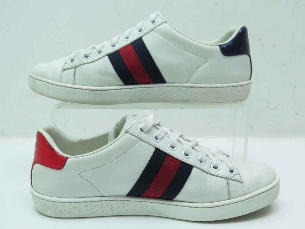 new concept e0b65 caaf9 chaussures gucci 460203 baskets brodees ace serpent 36