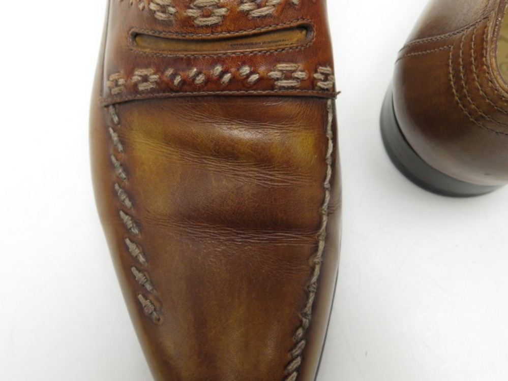 97c33141dd3 CHAUSSURES BERLUTI MOCASSINS 9 43 CUIR MARRON BROWN LEATHER LOAFERS SHOES  1670€. Next