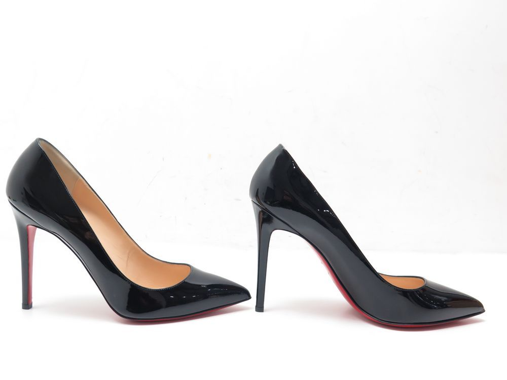 f873606aed7c NEUF CHAUSSURES CHRISTIAN LOUBOUTIN PIGALLE 100 CUIR VERNI 43